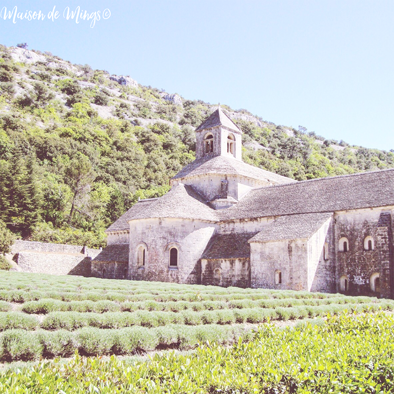 senanque abbey provence france