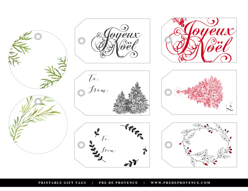 photograph about Free Printable Holiday Tags named Receive Inside of Upon This sort of Free of charge Printable Holiday vacation Reward Tags Pré de
