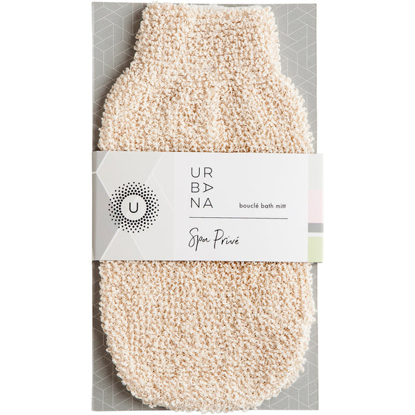 Spa Prive - Bouclé Bath Mitt