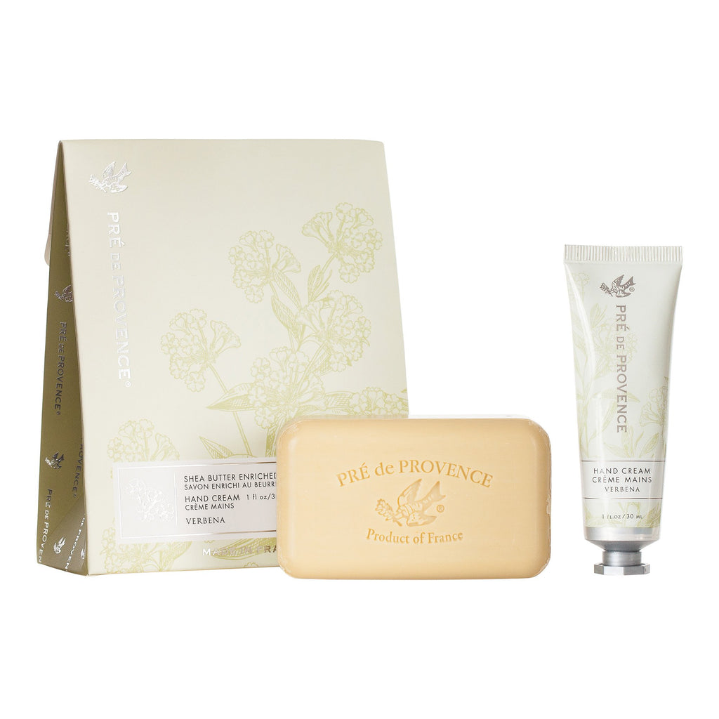 Soap & Hand Cream Gift Set - Verbena