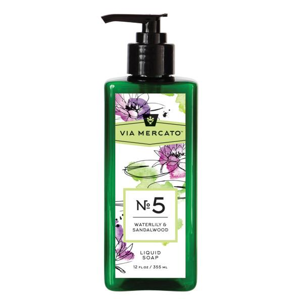 Liquid Hand Soap - Waterlily & Sandalwood