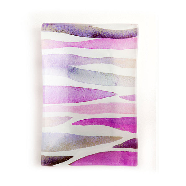 Via Mercato Soap Dish - Purple