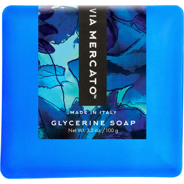 Via Mercato Bella 100G Glycerine Soap - Coconut, Goji Berry & Black Currant