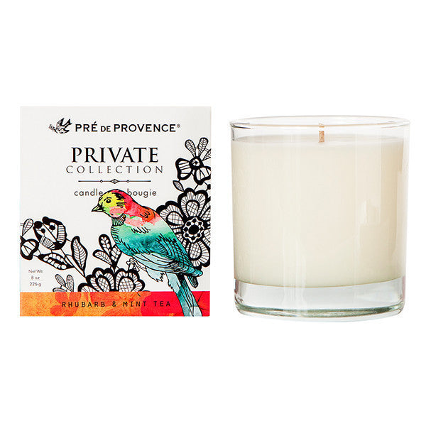 Rhubarb & Mint Tea Candle