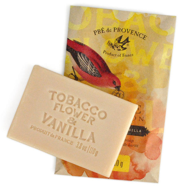 Tobacco Flower & Vanilla Soap