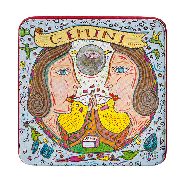 Zodiac Soap In Tin - Gemini