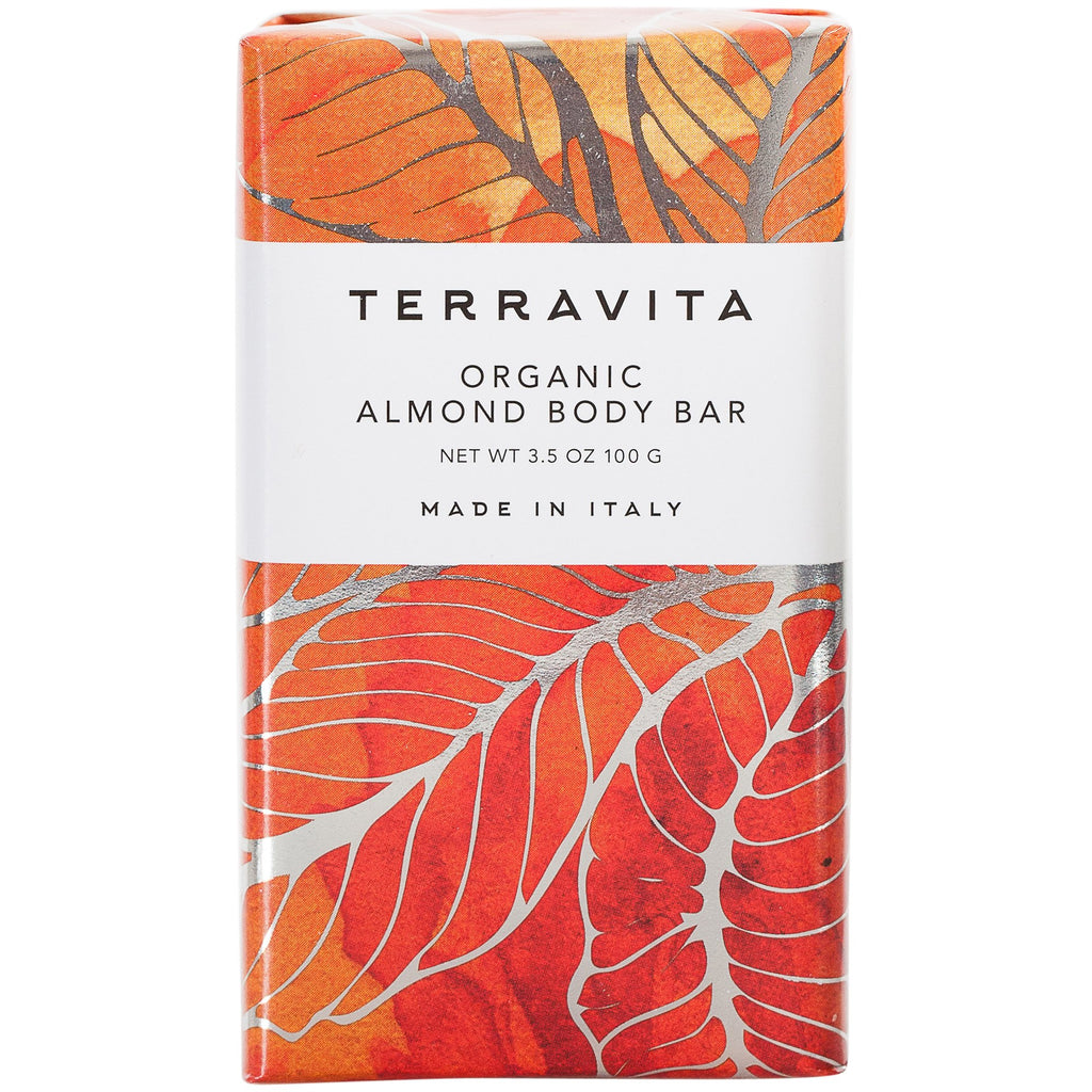 Terravita Organic Body Bar - Almond