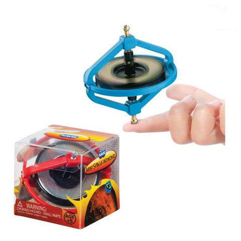 Mini Space Wonder Gyroscope - Approximately 3'' Inches -One Per Order - Colors Vary