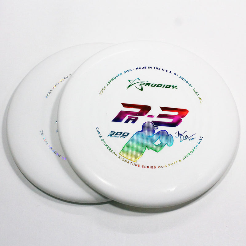 Prodigy PA-3 300 Disc Golf- Putt & Approach - Many Styles! Colors and Weight may Vary (170g -174g) Sold Individually - YoYoSam