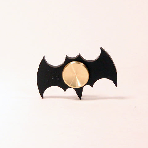 The Batman Fidget Hand Spinner- Steel and Aluminum with Hybrid Bearing