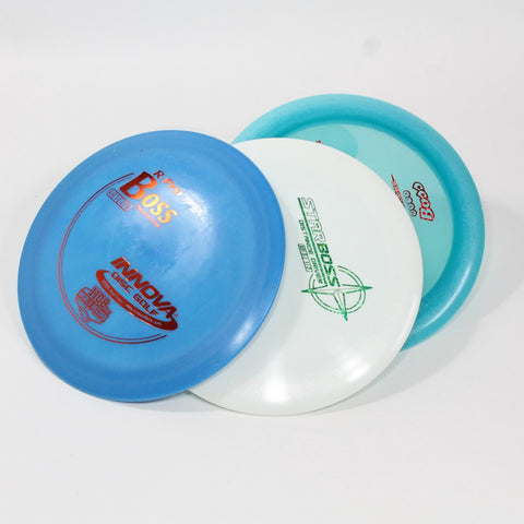 Innova Boss Disc Golf- Distance Driver - Many Styles! Colors and Weight may Vary (159g -175g) Sold Individually - YoYoSam
