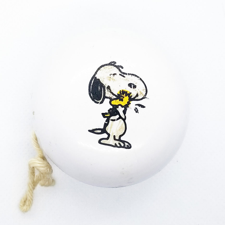 Vintage United Features Syndicate Snoopy Yo-Yo - fair/good cond VF9-5