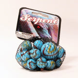 Mega Marbles Themed Marbles- 24 Player Marbles (5/8'') - 1 Shooter (1'')-