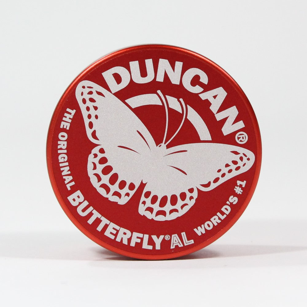 Duncan Butterfly AL Yo-Yo - Aluminum Version of Classic Butterfly YoYo