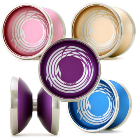 TOP YO Encores Yo-Yo - 7003 Aluminum with Stainless Steel Rims - Chi Gaoyo Signature YoYo