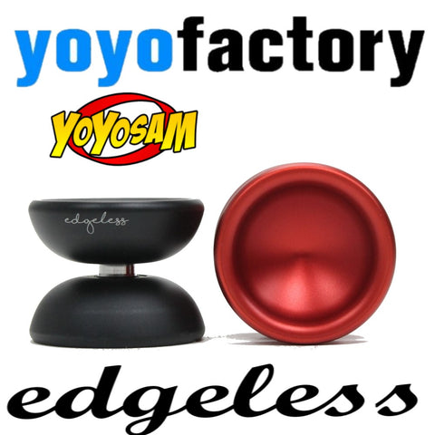 YoYoFactory Edgeless Yo-Yo - Signature Model YoYo for World Champion Evan Nagao