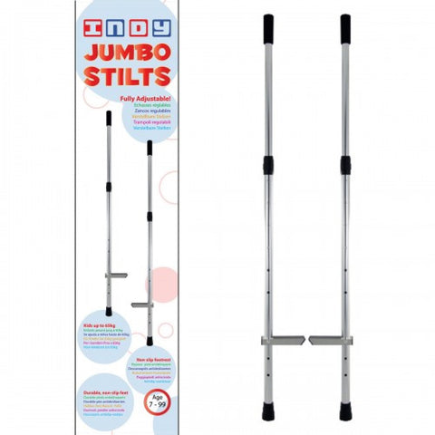 Indy Jumbo Stilts - Kids to Adult - Chrome