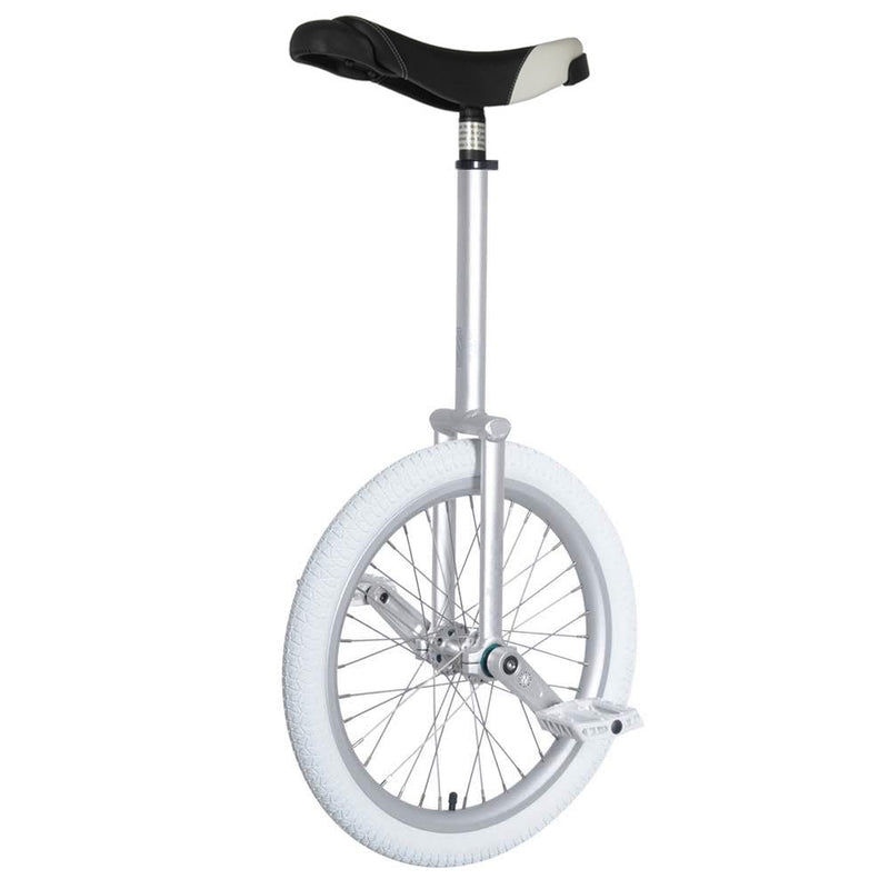 "Nimbus Eclipse 20"" Pro Freestyle Unicycle 300mm - Silver - YoYoSam"