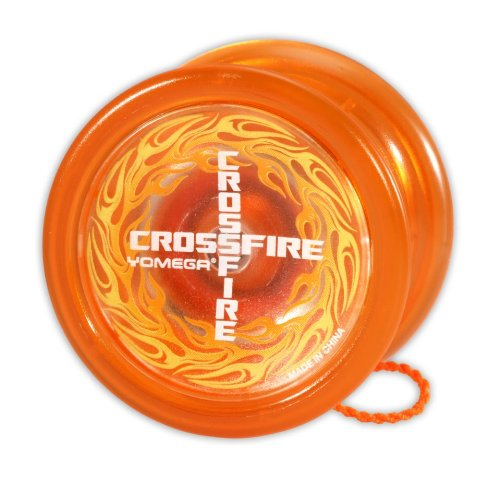 Yomega Crossfire Yo-Yo - Orange - YoYoSam
