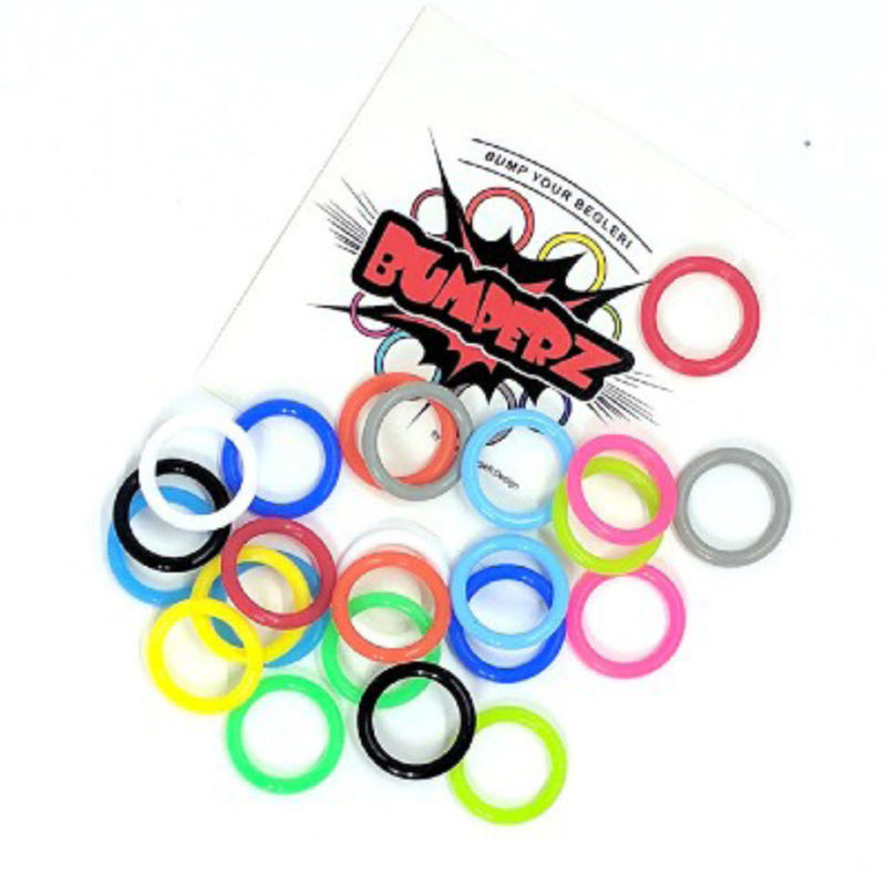 MonkeyfingeR Bumperz- for Executive Ape Begleri- Customizable Accessory (48 PACK MIXED COLOR)