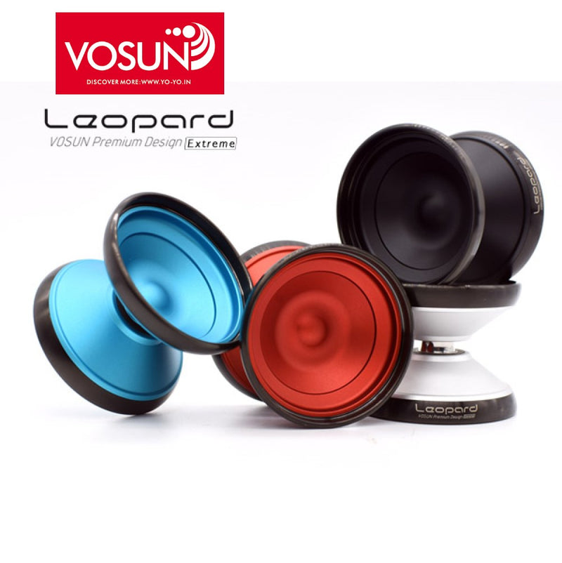 Vosun Leopard EX Yo-Yo 2019 Lighter Version - Bimetal YoYo - YoYoSam
