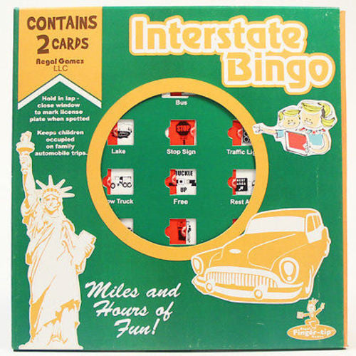 Travel Bingo - Interstate Bingo