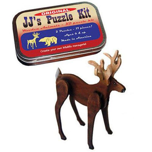 The Original JJ's Puzzle Kit by Channel Craft - 2 Puzzles - Made in the USA - YoYoSam