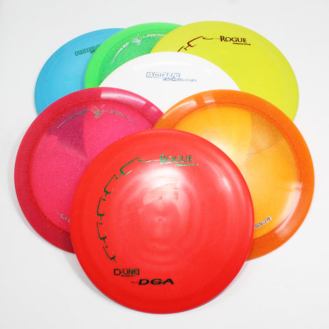 DGA Rogue Disc Golf- Distance Driver- Many Styles! Colors and Weight may Vary (150g-174g) Sold Individually - YoYoSam