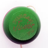 Vintage Duncan Junior Wood Yo-Yo -Good Condition- Gold Leaf-60s (VF5-5)