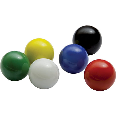 Mega Game Replacment Marbles 14mm -Solid Glass-30 Pieces - Chinese Checkers, Crafting