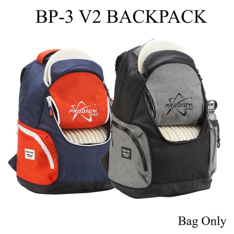 Prodigy BP-V2 Disc Golf Back Pack - Holds up to 17 Golf Discs