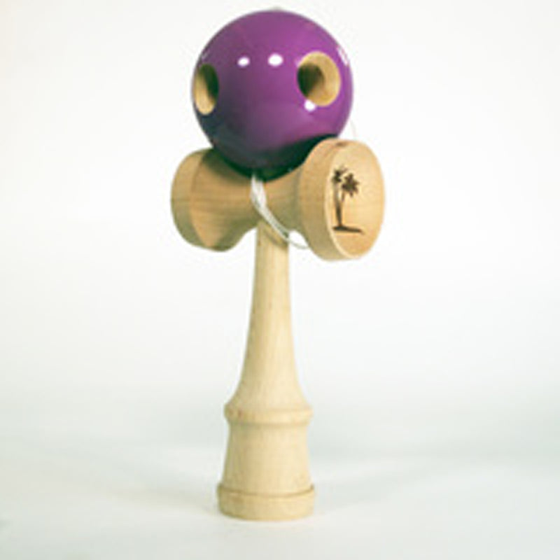 The Original Bahama Kendama Grand Kendama - 5 Hole - Purple - YoYoSam