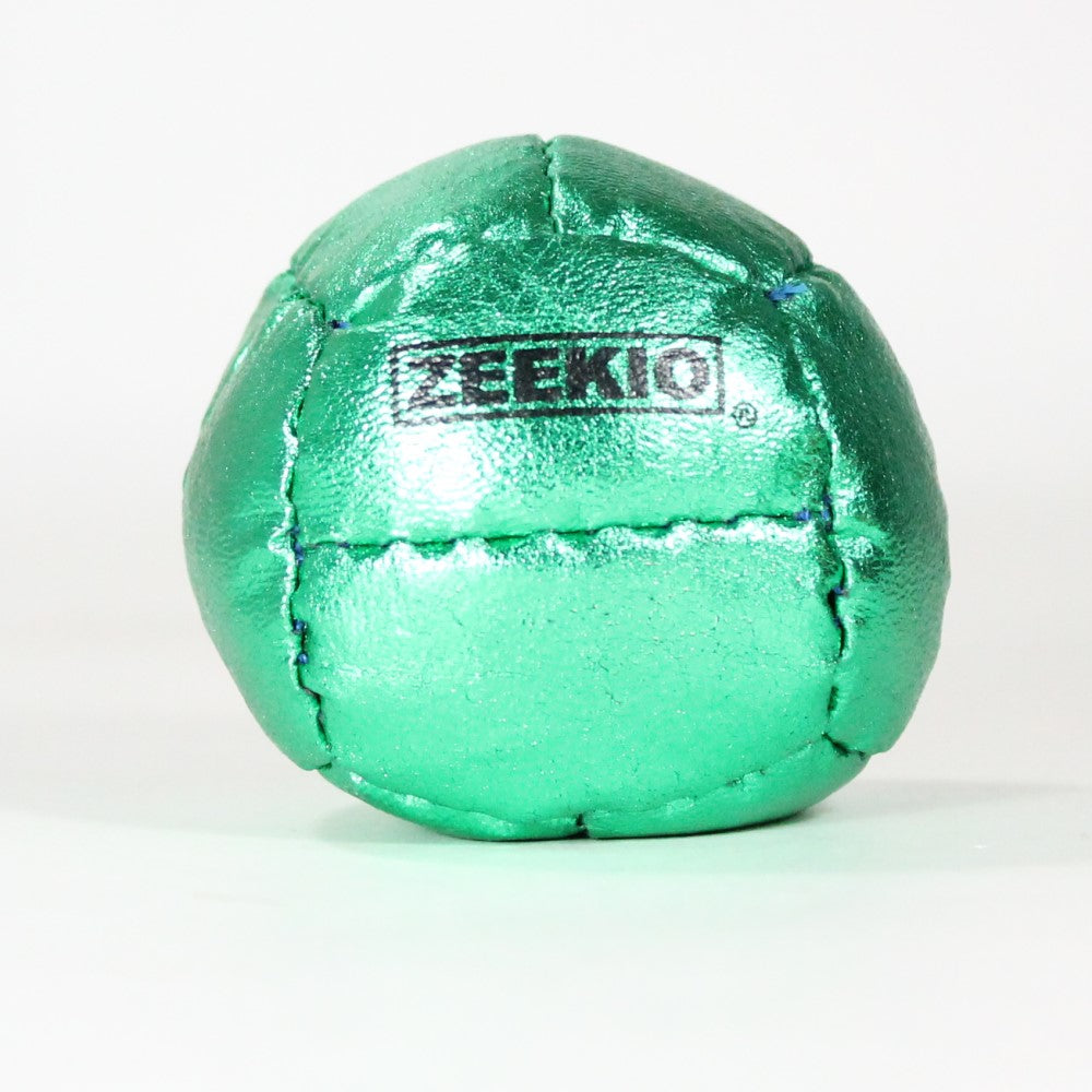 Zeekio Galaxy Juggling Ball - Metallic Series - 12 Panel Leather Ball, 130g, 62mm - (1) Single Ball