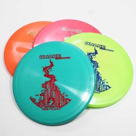 DGA Quake Disc Golf - Midrange Disc - Many Styles! Colors and Weights may vary ( 170g-177g) Sold Individually - YoYoSam