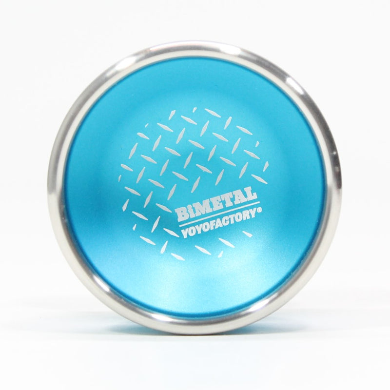 YoYoFactory Bi-Metal Yo-Yo - Aluminum Body with Stainless Steel Rings - High Performance YoYo - YoYoSam