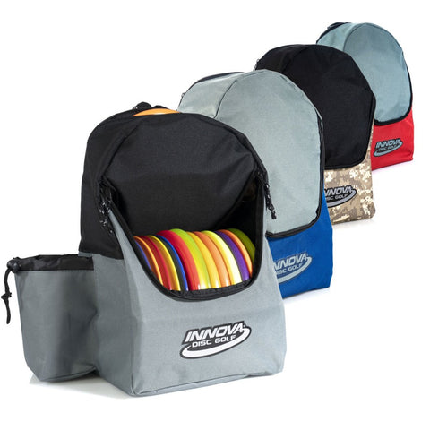 Innova Discovery Pack Golf Disc Backpack - Golf Disc Bag holds 15 Discs and a Drink Holder - YoYoSam