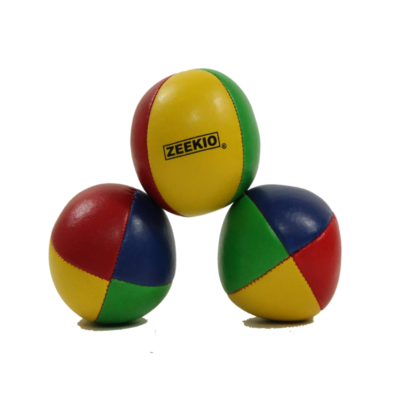 Zeekio 4 Panel Trainer Juggling Ball Set- Set of 3 - 105gm - YoYoSam