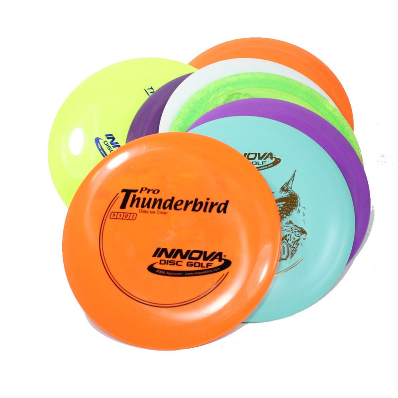 Innova Thunderbird Disc Golf- Distance Driver - Many Styles! Colors and Weight may Vary (166g -172g) Sold Individually - YoYoSam