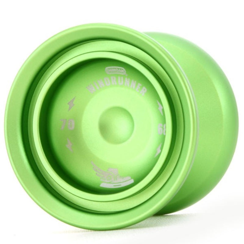 Duncan Windrunner 7068 Yo-Yo - Full Size YoYo with Upgraded Aluminum (7068) and Longer Axle! - YoYoSam