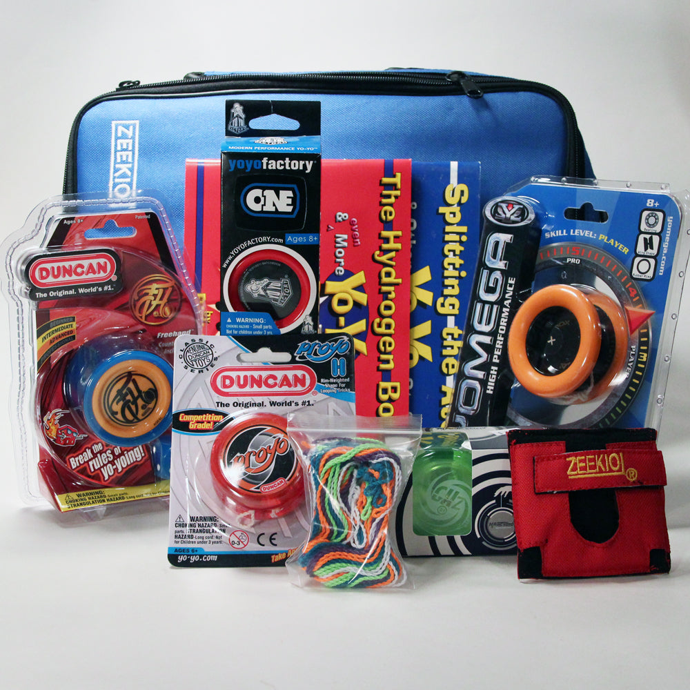 Insane Yo-Yo Gift Set - Five Yo-yos - Case and more!