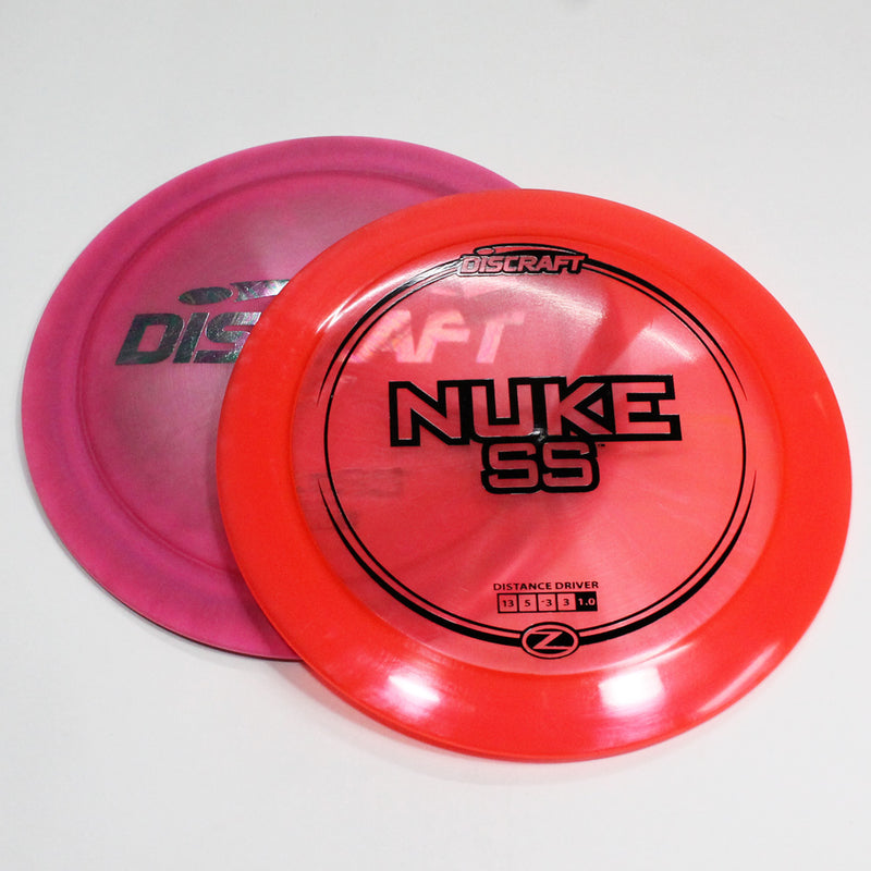 Discraft NUKE SS Disc Golf- Maximum Distance Driver - Many Styles! Colors and Weight may Vary (173g) Sold Individually - YoYoSam