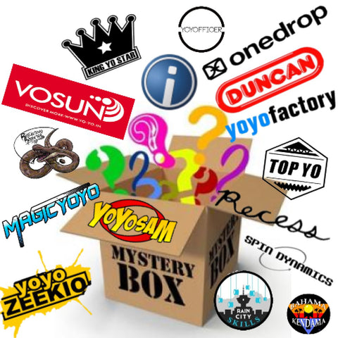 YoYoSam Mystery Boxes! Choose from YoYoFactory, Duncan, Zeekio, (Boutique) Yo-Yos and More!