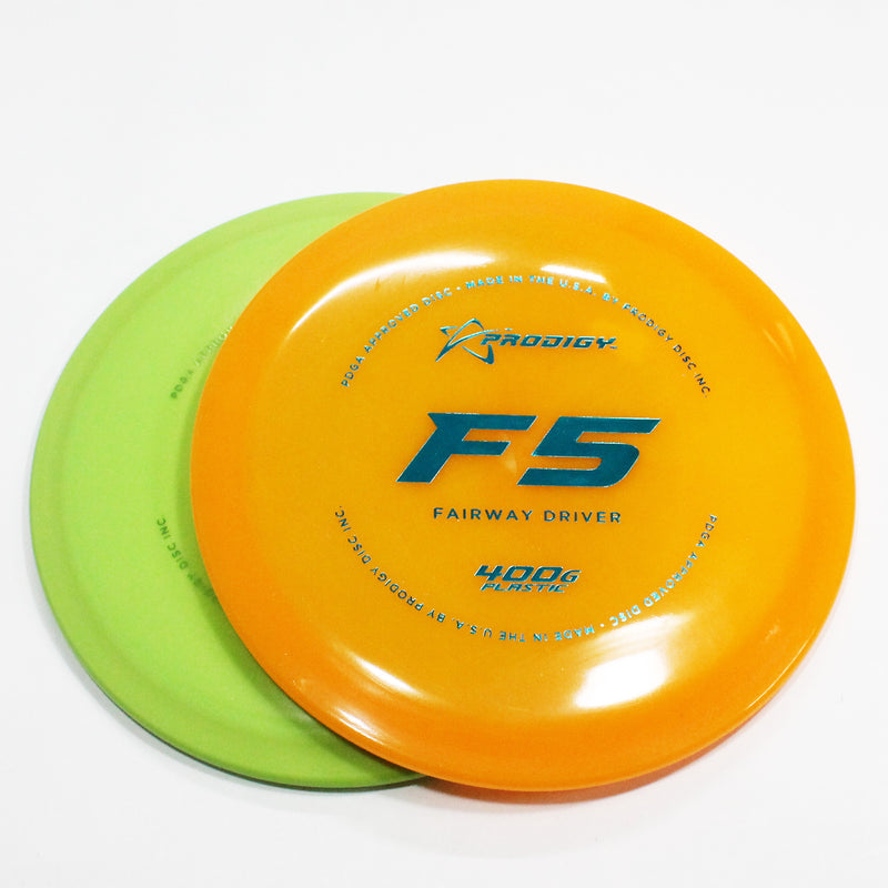 Prodigy F5 400G Disc Golf- Fairway Driver - Many Styles! Colors and Weight may Vary (160g -176g) Sold Individually - YoYoSam