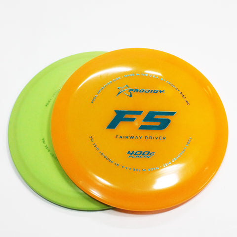 Prodigy F5 400G Disc Golf- Fairway Driver - Many Styles! Colors and Weight may Vary (160g -176g) Sold Individually