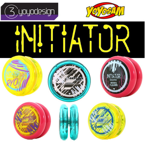 C3yoyodesign InitiatorYo-Yo - Polycarbonate Looping YoYo with Metal Spacer - YoYoSam