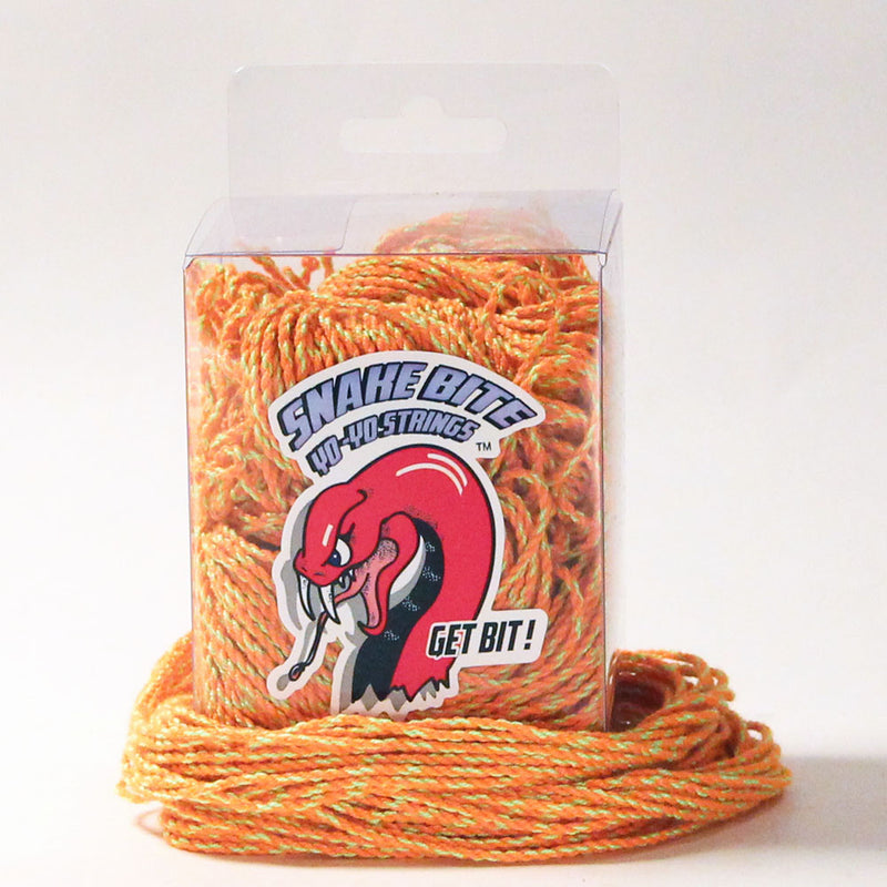 "Snake Bite Yo-Yo Strings - 100% Polyester Extra Long 50"" Strings - 100 pack - YoYoSam"