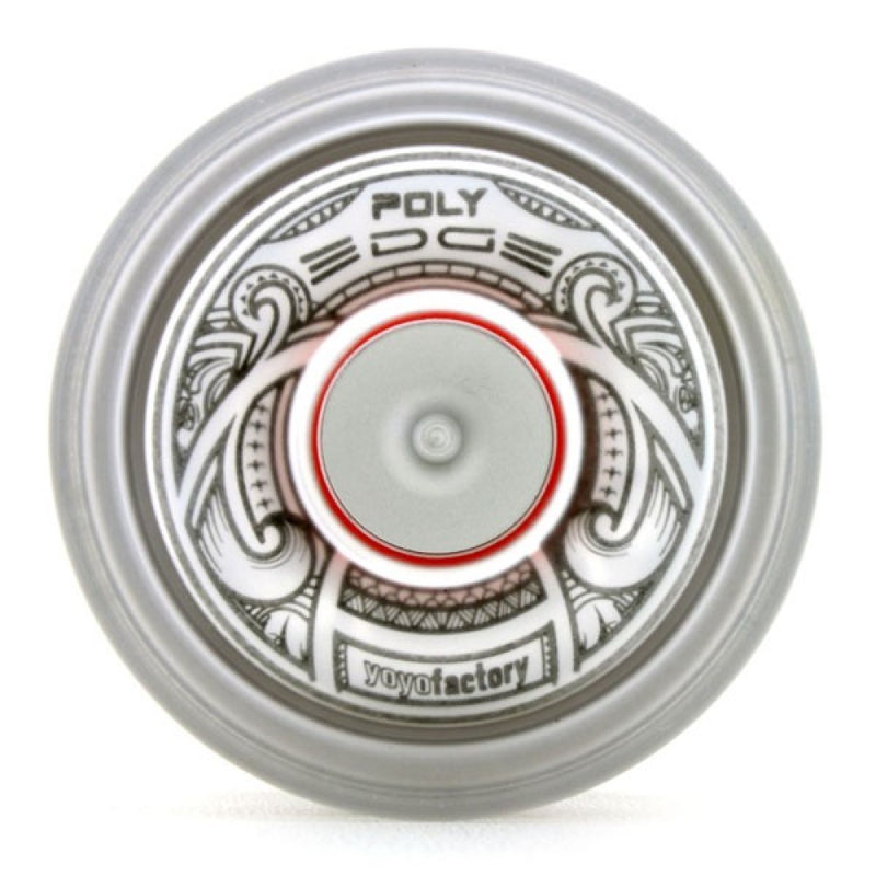 YoYoFactory POLY Edge Yo-Yo - Polycarbonate Body with Stainless Steel Rim - Evan Nagao Signature YoYo - YoYoSam