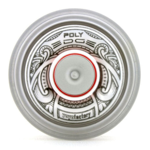 YoYoFactory POLY Edge Yo-Yo - Polycarbonate Body with Stainless Steel Rim - Evan Nagao Signature YoYo