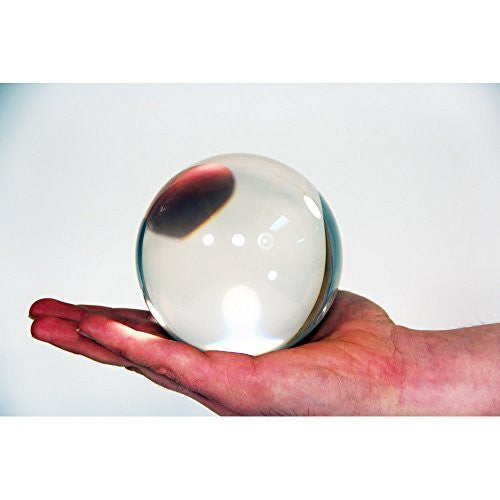 Zeekio Clear Acrylic Contact Ball - 100mm - Approx. 4""