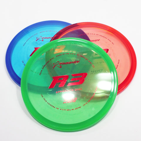 Prodigy A3 400 Disc Golf- Approach Disc - Many Styles! Colors and Weight may Vary (170g -174g) Sold Individually